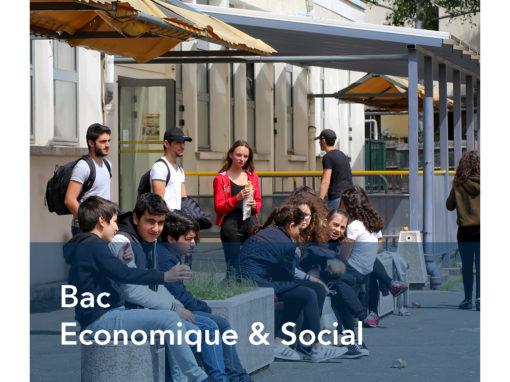 Bac Economique & Social