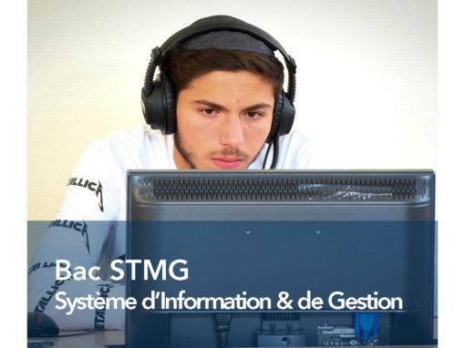 Bac STMG Système d'Information & de Gestion